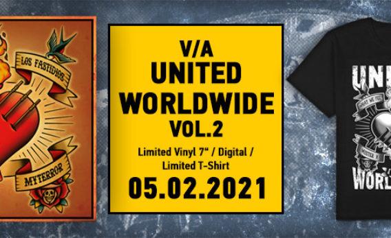 """7"""" """"United Worldwide Vol. 2"""" erscheint auf Audiolith"""